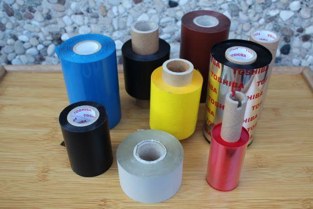 ribbon in resina tessile